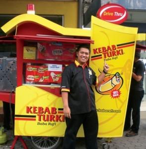 Kebab Baba Rafi Go Internasional
