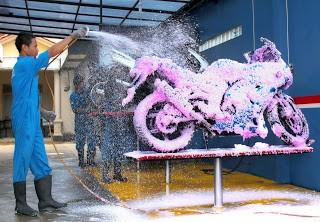 usaha pencucian motor