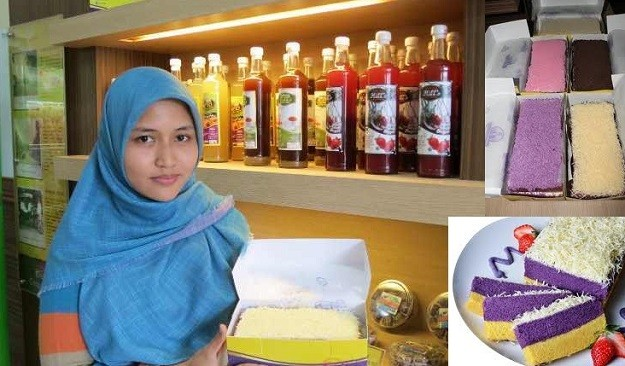 Kisah Sukses Rizka Wahyu Romadhona Pemilik Talas Bogor