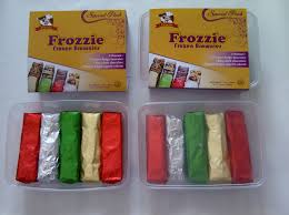 frozie frozzen brownies