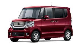 Honda N Box Merah