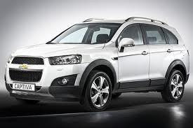 New Holden Captiva