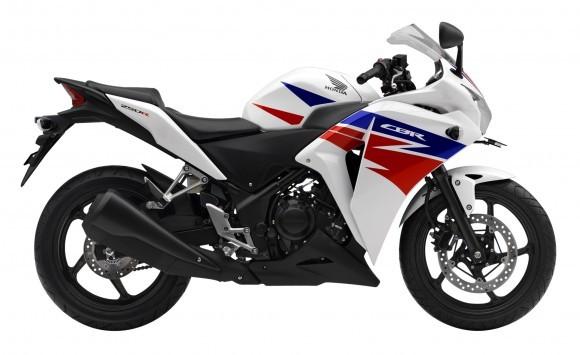 Honda CBR250R putih