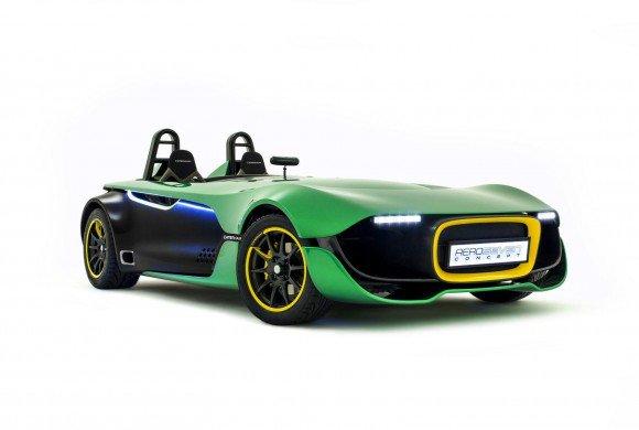 Grand Prix Singapura : Caterham Aeroseven Concept Sporty Desain Futuristik Dua Seater