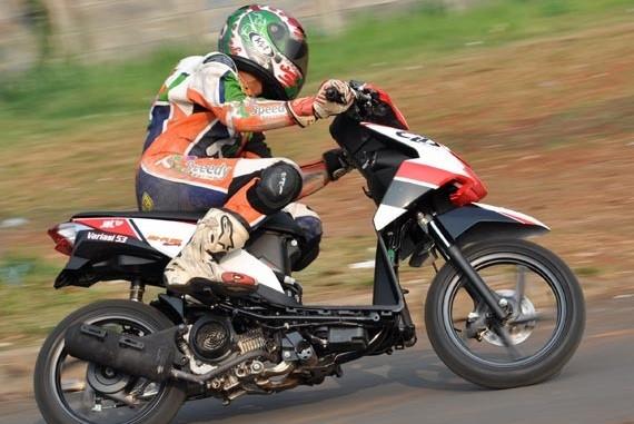 Matic Honda BeAT FI Pertama Kali Ikut Ajang Road Race