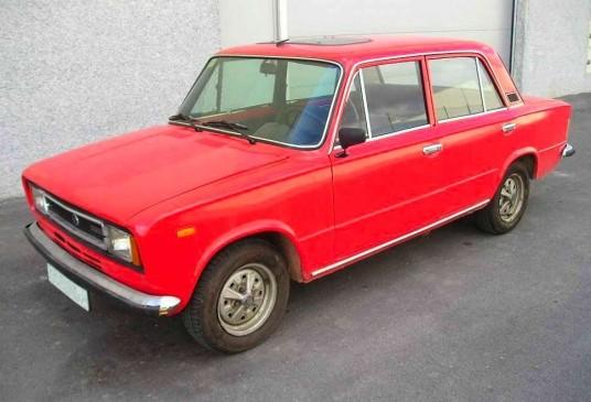 Mobil Klasik Populer : The SEAT 124