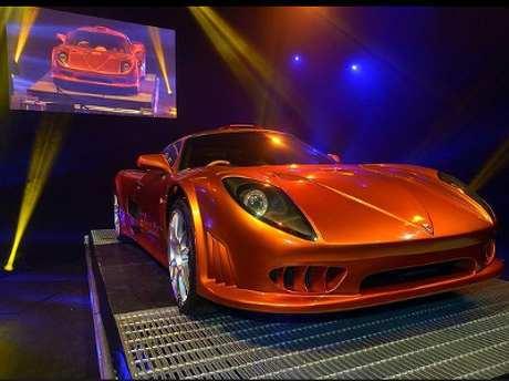 Mobil Super Dengan Kecepatan Tinggi