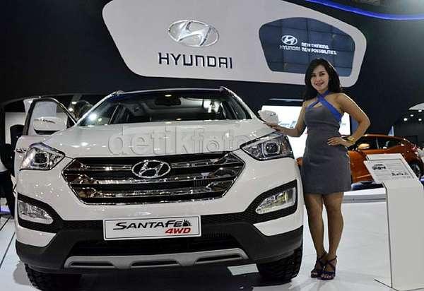 Produksi Terbaru Hyundai  Santa Fe 4 WD