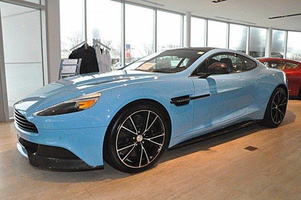Aston Martin Vanquish Di Jual