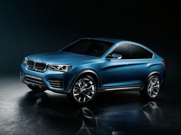 BMW X4 Debutnya Produksi Di Jenewa