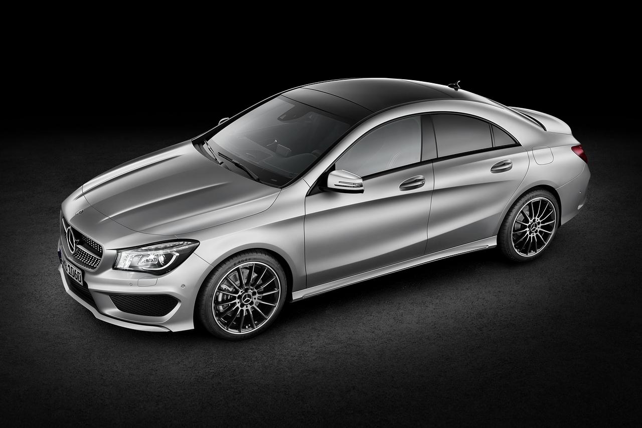 Mercedes C-Class Baru Dalam Air Garam