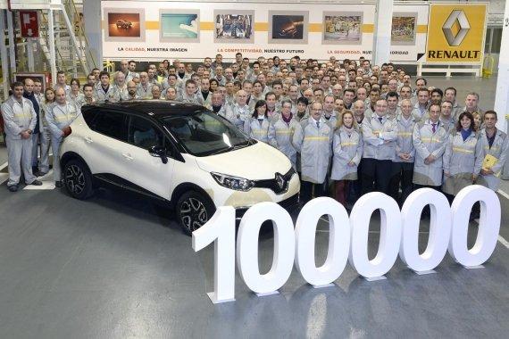 Renault Mencapai 100.000 Unit Di Produksi Captur