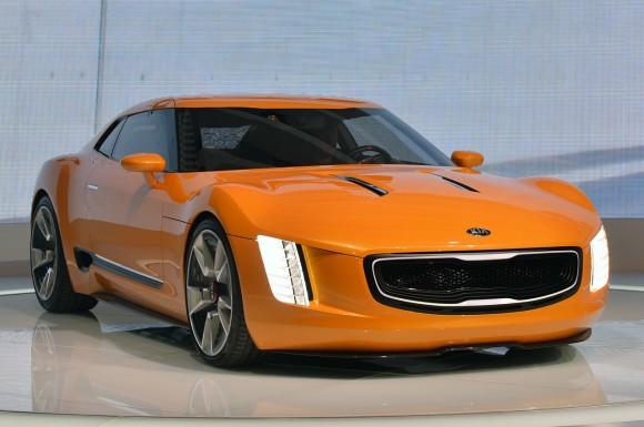 Cukup Kia Concept GT4 Stinger Live - Detroit 2014