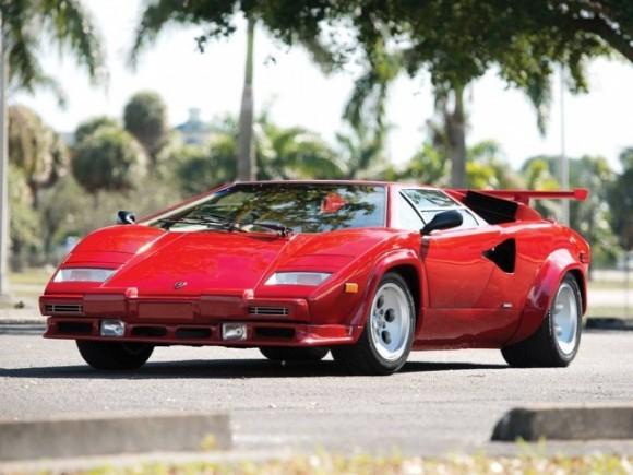 Eksklusif Lamborghini Countach LP5000 QV 1986