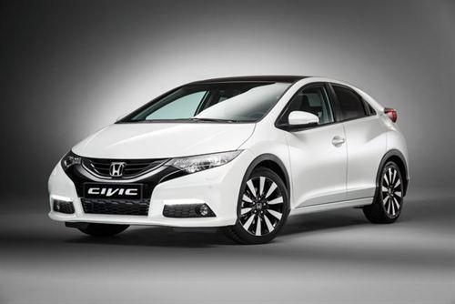 Honda Memperkenalkan Perbaikan Peralatan Dan Memperbaharui Lima Pintu Civic