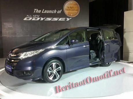 Honda Resmi Meluncurkan Generasi Kelima dari Honda Odyssey