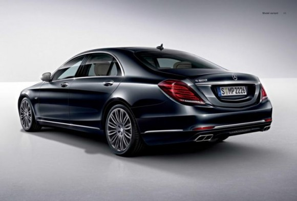 The Mercedes S600 Muncul Awal