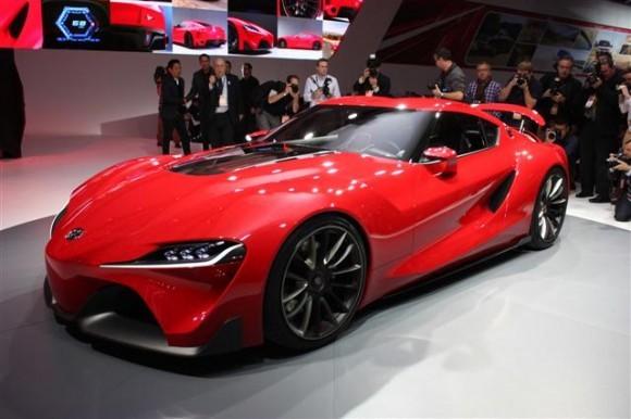 Toyota FT-1 Mengejutkan Dengan Kehadirannya Di Detroit Auto Show