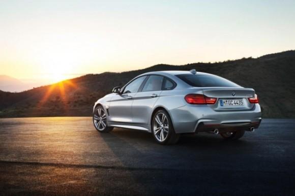 Meluncurkan BMW Seri 4 Gran Coupe