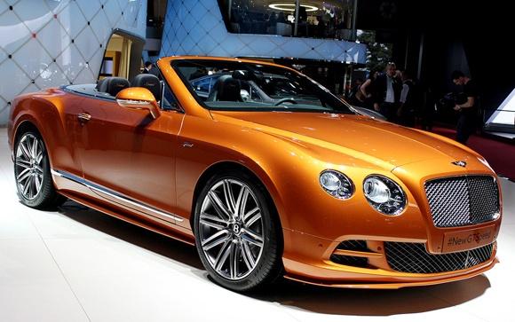 Geneva 2014 : Bentley Continental GT Speed Model yang Paling Kuat Dalam Sejarah