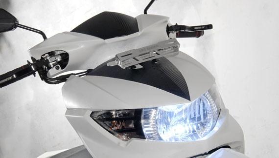 Modifikasi Lampu Yamaha Soul GT Dengan Lampu HID Tampil Beda