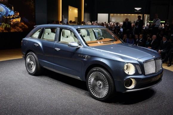 Bentley Menyiapkan SUV Termahal di Dunia pada 2016