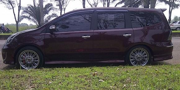 Modifikasi Nissan Grand Livina Memberikan Nuansa Mewah Tersendiri