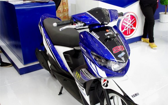 Yamaha Soul GT Dengan Desain MotoGP