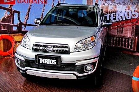 Daihatsu Terios TX Adventure 2014 Mendapatkan Beberapa Sentuhan Terbaru