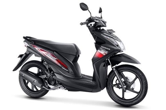 Honda Beat 2014 Tampil Impresif Dengan Striping Baru