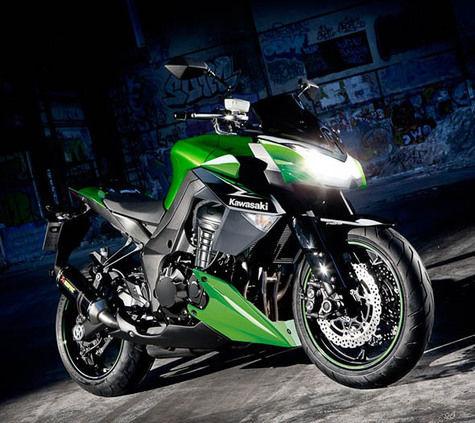 Motor Kawasaki Keluaran Terbaru 2014