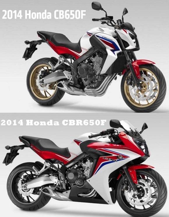 Motor Sporbike Terbaru Honda : Honda CBR650F dan CB650F Terbaru 2014