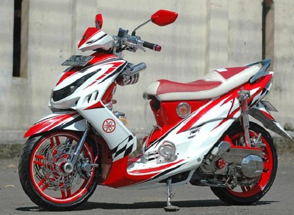 Modifikasi Paling Keren Motor Mio sporty