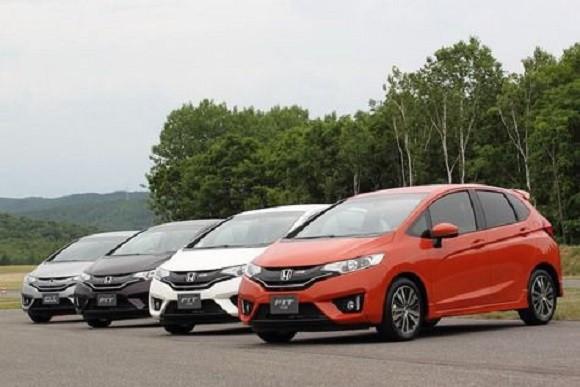 All New Honda Jazz 2014 Hybrid Diklaim Paling Irit