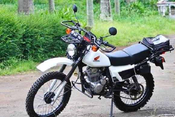 Modifikasi Honda XL125S Tampil Dengan Gaya Sendirinya