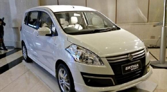 Gambaran Terbaru MPV Suzuki Ertiga Facelift 2015