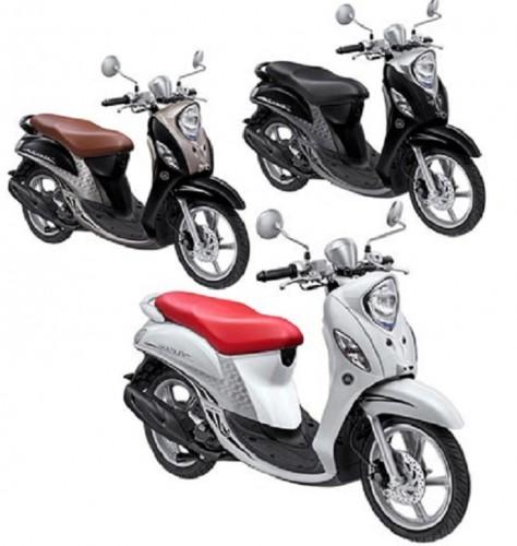 Konsep Sensasi Romantis Warna Dan Striping Baru Yamaha Fino