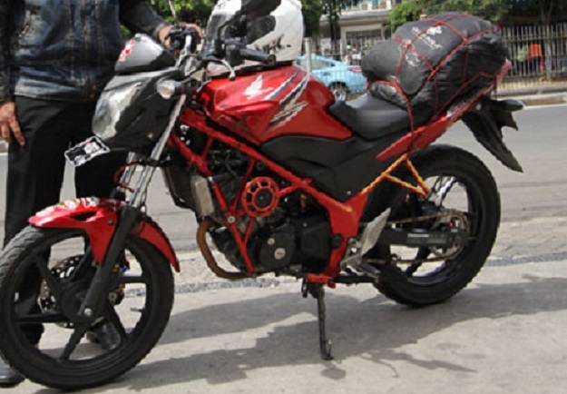Modifikasi Street Fire Honda CB150 Dan Korek Harian
