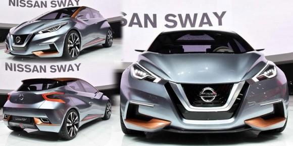 "Hatchback Terbaru Nissan ""Nissan Sway"" Penerus Dari DNA Nissan March"