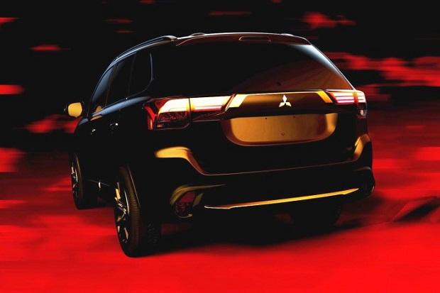 Inilah Wujud Asli Mitsubishi Outlander 2016 Facelift