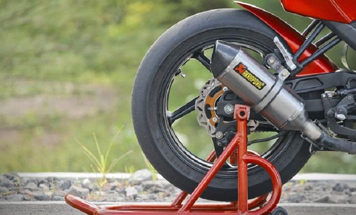 Modifikasi Kaki-Kaki Yang Lebih Besar, Yamaha Vixion Tampil Lebih Menantang