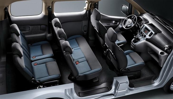 nissan menghadirkan e nv200 evalia 7 seater untuk memanjakan konsumennya. Black Bedroom Furniture Sets. Home Design Ideas