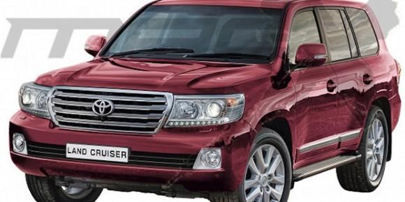Toyota Akan Hadirkan Generasi Terbaru Land Cruiser 2015
