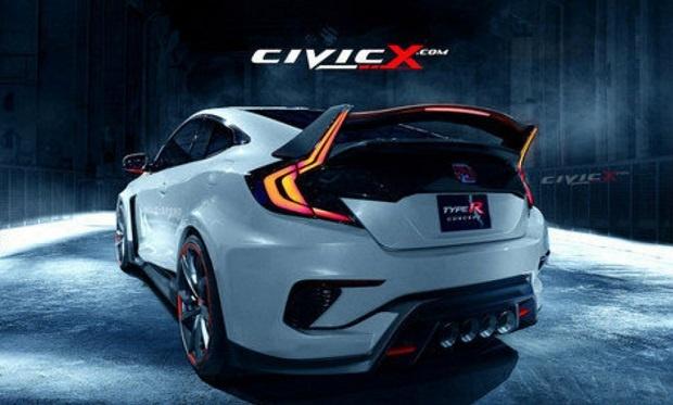 Honda Civic Type-R Hadir Dengan Wujud Coupe
