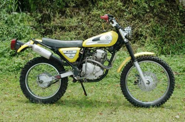 Modifikasi Jadul Yamaha Scorpio, Menabur Trend Motor Jadul Penggaruk Tanah