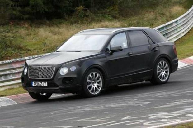 SUV Mewah Bentley Bentayga Tidak Lama Lagi Dipasarkan