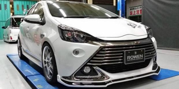 Hatchback Toyota Aqua G's RR Kekar Dan Gahar