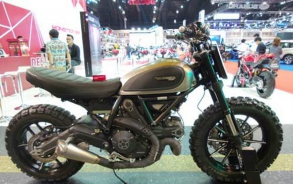 Modifikasi Ringan Ducati Scrambler, Simpel Tapi Gahar