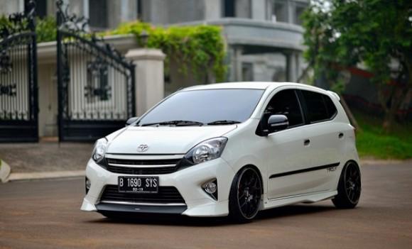 Konsep Modifikasi Toyota Agya TRD Sportivo Tampil Elega