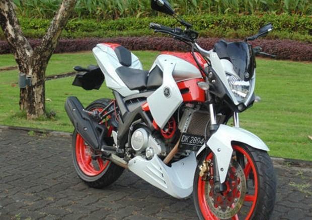 Modifikasi Yamaha Vixion Street Fighter Gagah dan Menarik